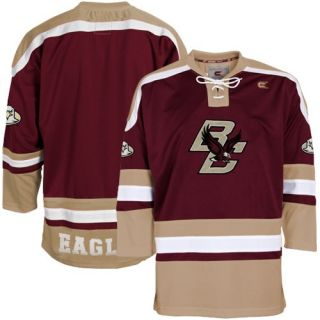 click an image to enlarge boston college eagles maroon hockey jersey