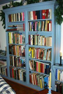 Bookcase Paper Plans Easy DIY Patterns Build Any Size Custom Bookshelf