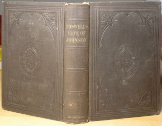 Life of Samuel Johnson James Boswell Malone Notes Bond Co 1856