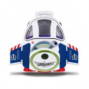 TOY STORY BUZZ LIGHTYEAR SPACESHIP CD PLAYER BOOMBOX *KID CHILD BOYS