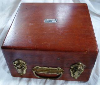 WWII WW2 Army Air Corp Sextant Original Case Accessories A 10 A