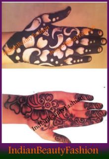 Henna Mehandi Kone Cne Temporary Tattoo Body Art Design Mehandi Cone