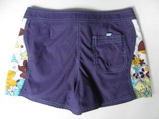 Crazy Shirts Jr Womens Board Shorts Swim Beach 9 Blue