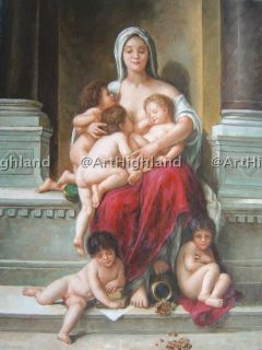 William Bouguereau Antique Oil Paintings Canvas Charity