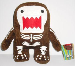 Domo Kun DomoKun Plush Stuffed Doll Skeleton Body 8 5