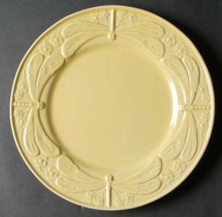 Bordallo Pinheiro Dragonfly Yellow Chop Plate 7646140