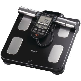 Omron HBF 516B Full Body Composition Sensing Monitor & Scale w/ LCD