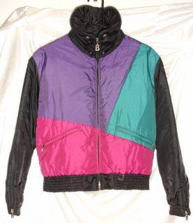 Bogner Ski Jacket Winter Coat Black Purple Green Cranberry Womens Size