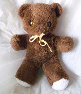 Vintage Animals Distinction Brown Teddy Bear Stuffed Animal Plush