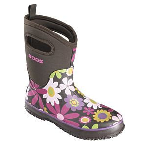 Bogs Classic Mid Womens Choc Berry Boot 6 52166