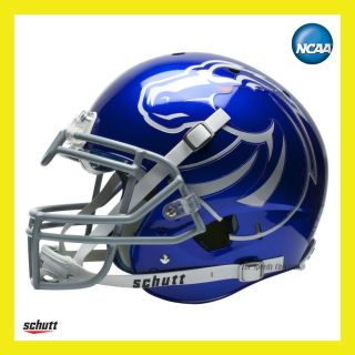 BOISE STATE BRONCOS BLUE COMBAT ON FIELD XP AUTHENTIC FOOTBALL HELMET