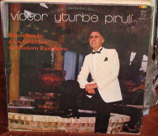 Piruli Recordando A Los Grandes Del Bolero Ranchero LP 201206