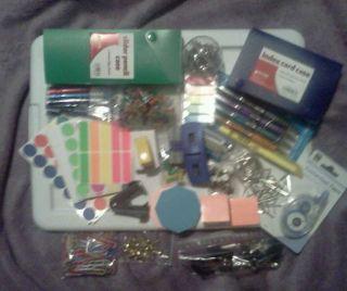 Huge Lot of Various Office School Teacher Supplies