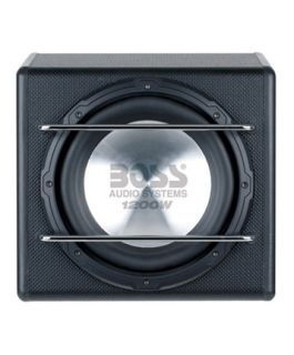 boss audio s12a new 1200w 12 amplified subwoofer w remote sub level