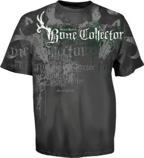 Bone Collector Wing Skull Mens T Shirt Hunting New