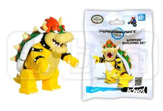 Bowser Super Mario Kart Mini Figure KNEX KNEX Wii Building Set King