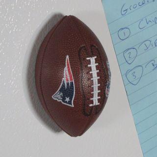 Patriots Mini Football Bottle Opener Handheld Fridge Magnet NFL NEW