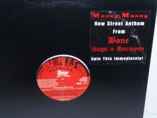 BONE THUGS N HARMONY Money Money 12 single Epic EAS 59456 promo (2002