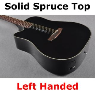 Boulder Creek Left Handed Acoustic Electric Guitar