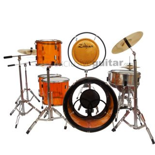 Miniature Drum Set Bonham LED Zeppelin