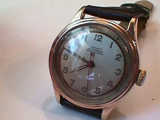Mens1950s Bovet. Freres & Co. Heavy Rose Gold plate. Nice condition