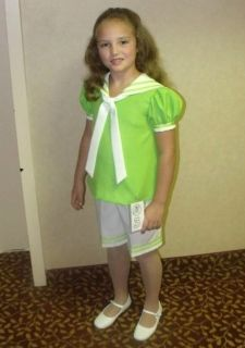 Pageant Natural Casual Wear Custom Made by Jeannie Butler Size 8 Look