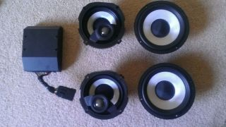 Harley Davidson Street Glide Boom Audio Amp and Speakers from 2011