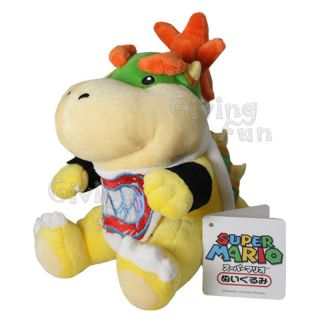 Genuine Nintendo Super Mario Bros Bowser Jr Plush Doll