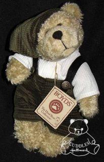 Elfie Bear Boyds Plush Toy Teddy Stuffed Animal Christmas Elf Green