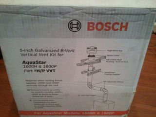 Bosch 5 Galvanized Vertical B Vent Kit for AquaStar 1600H 1600P Part H