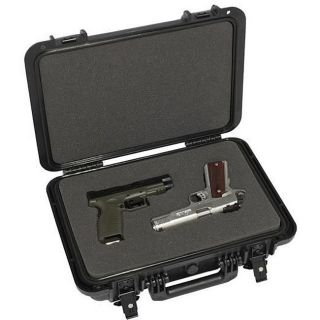 Boyt H4 Double Handgun Hard sided Travel Case