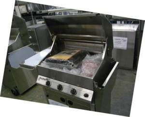 New Easy Chef Stainless Steel Barbecue Grill BBQ on Cart