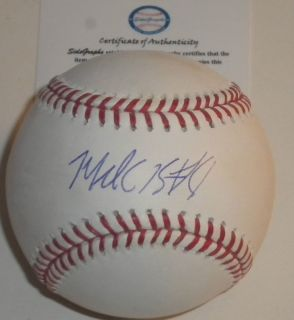 Michael Brantley Cleveland Indians Autographed Signed MLB Baseball