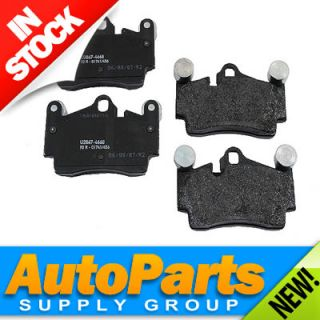 Bosch Rear Disc Brake Pad Set OEM Exact Fit Quiet Cast Cayenne Toureg