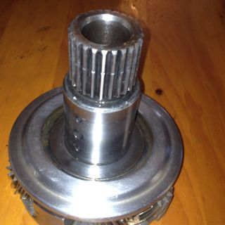 BORG WARNER MARINE TRANSMISSION PINION CAGE OUTPUT SHAFT ASSEMBLY