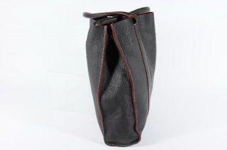 Crew Borge Garveri Norvegia Boks Brown PEBBLED Leather Tote Shopper