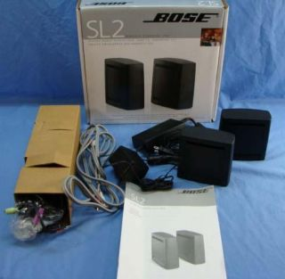 bose sl2 wireless surround link works w all lifestyle 5 1. Black Bedroom Furniture Sets. Home Design Ideas
