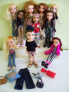 Bratz Doll Lot Girls Boy Clothing Great Condition MGA OOAK or Play