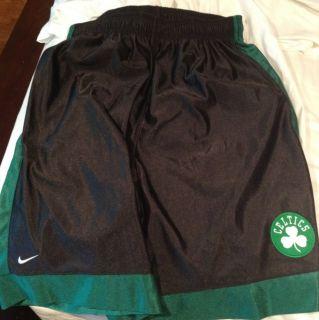 New Boston Celtics NBA Nike Black Basketball Shorts