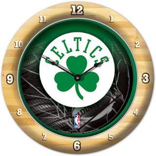 Boston Celtics NBA Basketball Game Time Series Round Wall Clock