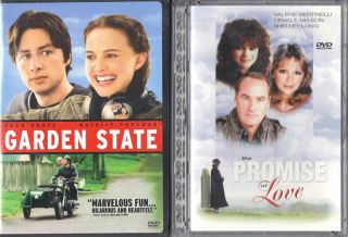 Garden State The Promise of Love 2 DVDs Like New 024543155881