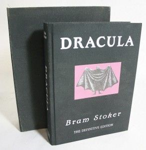 DRACULA,Bram Stoker ,The Definitive Edition,Signed by Artist,NUMBERED
