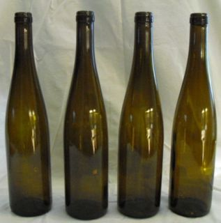 RIESLING STYLE EMPTY WINE CORK BOTTLES FOR WINE CRAFTS BOTTLE TREE