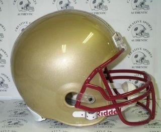 Boston College Eagles Riddell Full Size Football Helmet