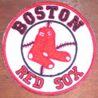 Boston Red Sox Embroidered MLB Logo Patch
