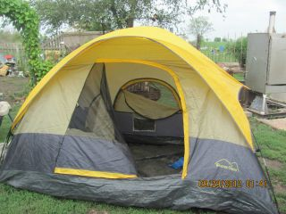 Boulder Creek 4 Person Vestibule Tent