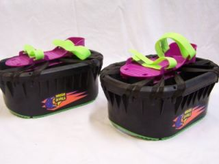 Purple Moon Shoes Jumping Boots Kids Toy Trampoline Anti Gravity Fun