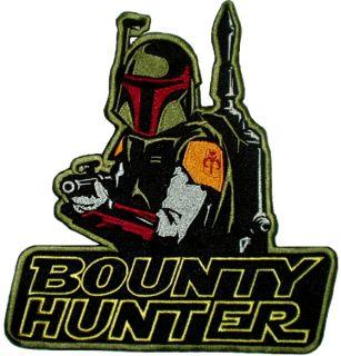 Star Wars Boba Fett Bounty Hunter Embroidered Big Patch Back Darth