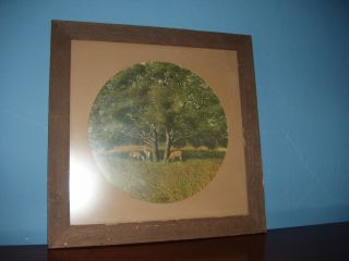 LAZY AFTERNOON by GEORGE BOUTWELL Signed & Numbered, Framed & Matted