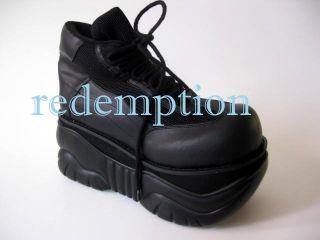 Gothic Cyber Punk Platform Bouncy Shoes Club Goth Gothic Mens 9